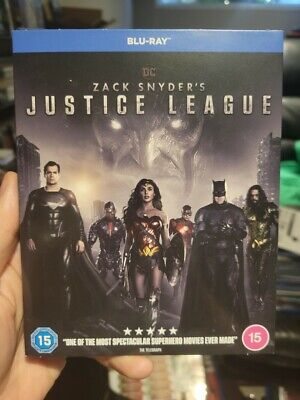 Zack Snyders Justice League Blu-ray BRAND NEW Snyder Cut