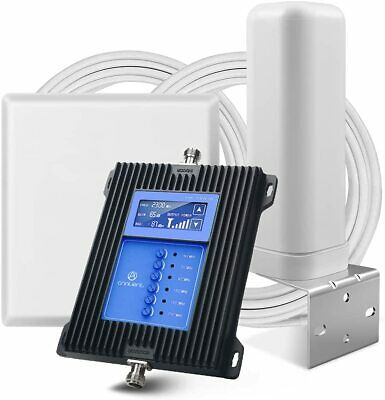 5G 4G LTE 3G 7-Band Cell Phone Signal Booster Mobile Repeater All CarriersArea
