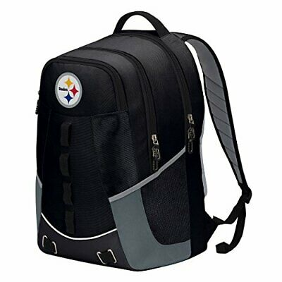 NEW- Officially Licensed NFL Pittsburgh Steelers Personnel Backpack 19x5x13