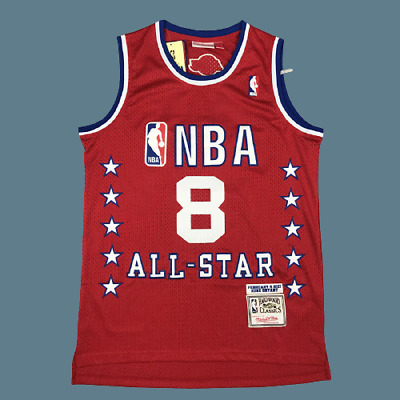 Mens 2003 NBA All Star Game KB 8 Red Jersey