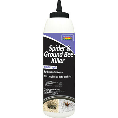 Bonide Spider - Ground Bee Dust Insect Killer 10 oz- -Pack of 1