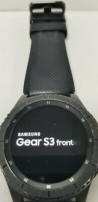 Samsung Gear S3 Frontier SM-R760 46mm Black Bluetooth DISCOUNTED TW1024