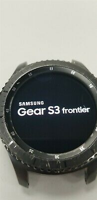 Samsung Gear S3 Frontier SM-R760 46mm Black Bluetooth DISCOUNTED TW1034