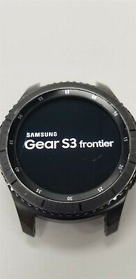 Samsung Gear S3 Frontier SM-R760 46mm Black Bluetooth DISCOUNTED TW1038