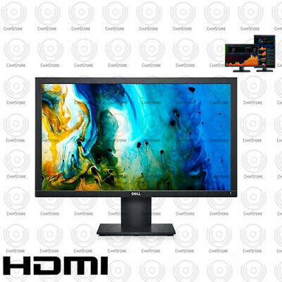 Dell UltraSharp HD 22 inch HDMI LCD Monitor Desktop Computer PC With cables