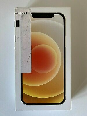 Apple iPhone 12 64GB iOS Smartphone - White (MGH73LL/A) A2172 Locked to Carrier