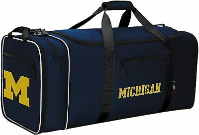 Officially Licensed NCAA Collapsible Steal Duffel Bag Michigan Wolverines