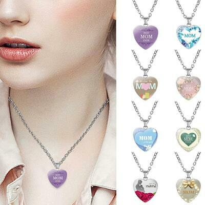 Mothers Day Heart Necklace metal Plated Love Clavicle Chains Classical Gift Hot