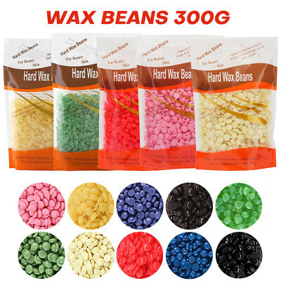 300g Hard Wax Beans Beads Depilatory for Body Hair Removal Waxing Warmer Heater