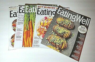 Eating Well Food Magazines Lot of 5 Dec 20 and Jan March April May 2021