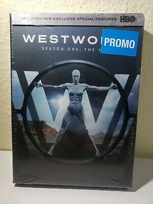 Westworld Season One DVD BOX Set Complete First HBO TV 10 HOURS - NEW