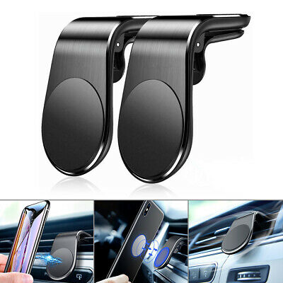 2-Pack Car Magnet Magnetic Air Vent Mount Holder Universal For Mobile Cell Phone