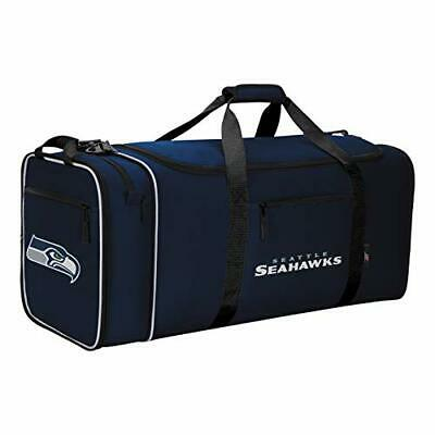 Officially Licensed NFL Expanding X-Large Steal Duffel Bag - Seattle Seahawks