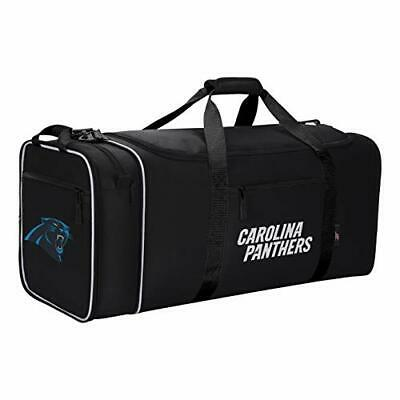 Officially Licensed NFL Expanding X-Large Steal Duffel Bag - Carolina Panthers