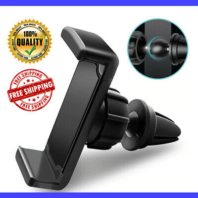 Universal Mobile Phone 360 Rotating In Car Air Vent Mount Holder Cradle Stander