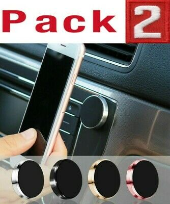 2-Pack Magnetic Car Dashboard Mount Holder Stand For Phone Samsung Galaxy iPhone