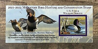WTDstamps - RW88A 2021 - 2022 - US Federal Duck Stamp - Post Office FRESH