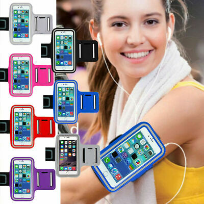 For Apple iPhone 12 11 XS Armband Case Cover Sports GYM Hiking Strap Phone Bag
