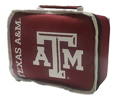 NEW Officially Licensed NCAA Sacked Lunch Kit Lunchbox Bag Texas A-M Aggies