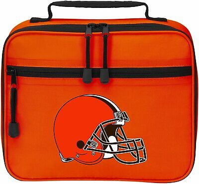 NEW Officially Licensed NFL Cool Time Lunch Kit Bag Cleveland Browns