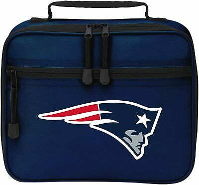 NEW Officially Licensed NFL Cool Time Lunch Kit Bag New England Patriots