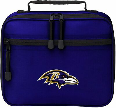 NEW Officially Licensed NFL Cool Time Lunch Kit Bag Baltimore Ravens