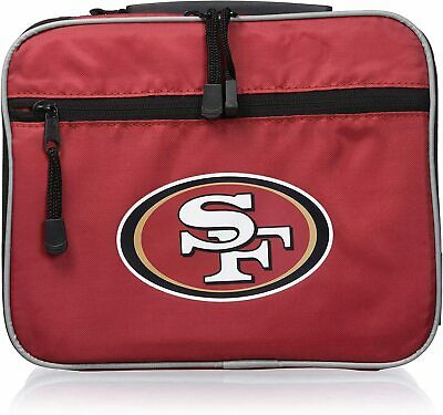NEW Officially Licensed NFL Cool Time Lunch Kit Bag San Francisco 49ers