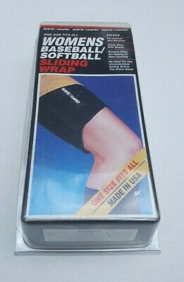 Womens Baseball Softball Sliding Wrap Safeguard One Size Fits All Made In USA