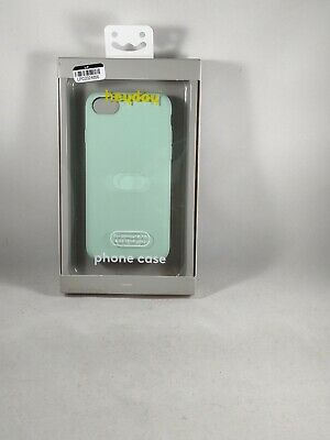 Light Teal Silicone Protective Smart Phone Case For Apple iPhone 8 7 6 SE 2nd