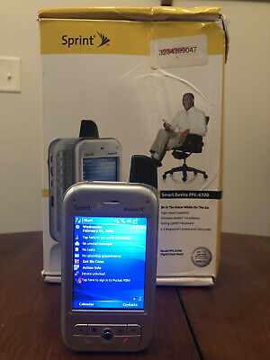 HTC PPC6700 Pocket PC Sprint Phone w Charging Dock Station And More