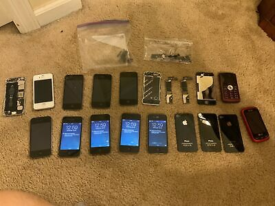 Lot of iPhone 4 5 and other phones For Parts As Is- Other Miscellaneous Parts