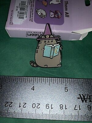 NeW PUSHEEN Halloween GLITTER 2021 Collectible Blind Enamel PIN  WITCH  RaRe