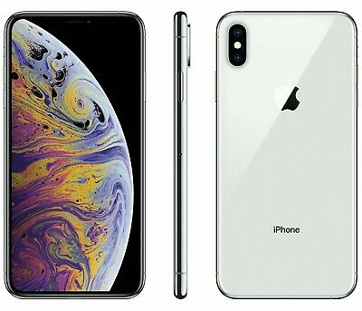 Apple iPhone X - 256GB - Silver (AT&T ONLY) A1901 (A+ Grade Condition)