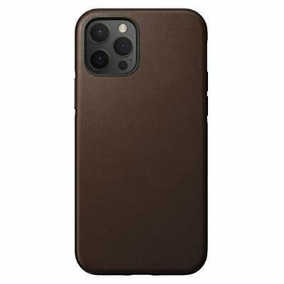 Nomad Rugged Leather Case Rustic Brown for iPhone 1212 Pro Cases