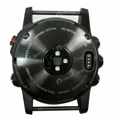 Back Cover Case Replacement For Garmin Fenix 5x Sport Watch Parts- Middle Frame