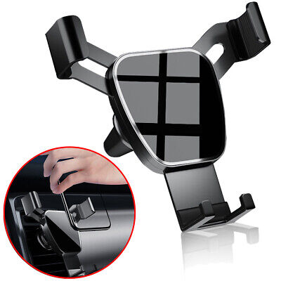 Gravity Car Air Vent Mount Cradle Mobile Phone Holder Stand for iPhone 12 11 XR