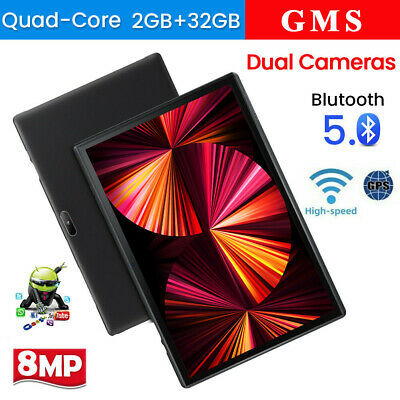 2021 10-1  WiFi Tablet Android 9-0 Pad 2G-32GB Quad-Core Tablet GPS Dual Camera