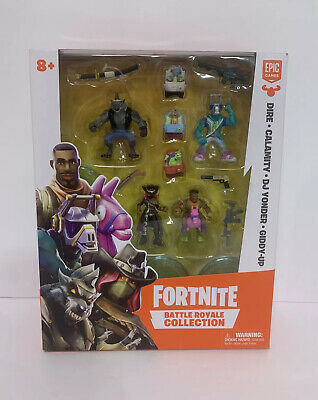 Fortnite Battle Royale Collection DireCalamityDJ YonderGiddy-up Collection 8-