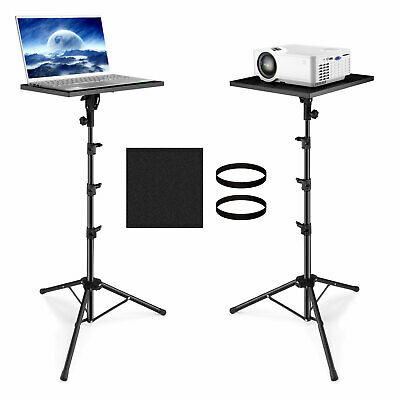 Adjustable Projector Tripod Stand Tray Laptop Camera Outdoor Home Office Holder