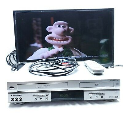 Panasonic PV-D4733s DVD Player VHS VCR Combo with Remote Tested