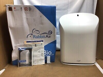 Rabbit Air BioGS 2-0 Ultra Quiet Air Purifier w HEPA Filtration SPA-550A Used