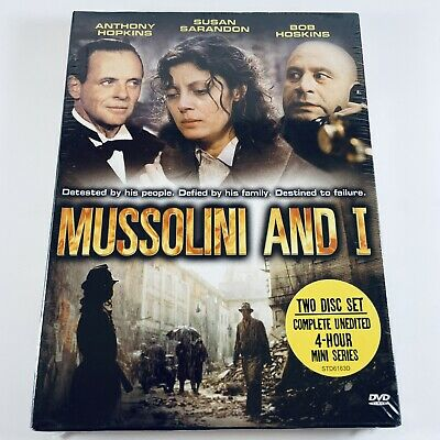 Mussolini and I DVD 2-Disc Set 1985 Complete Unedited 4-Hour Mini Series NEW