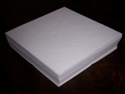 50 sheets Tear Away Embroidery StabilizerBacking 8x8