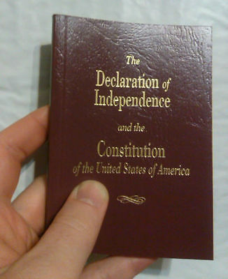 Pocket Size United States Declaration Of Independence - Constitution Of The USA