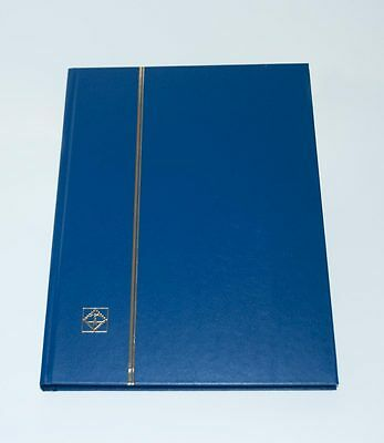 Lighthouse 32 Page Hardcover Stockbook Blue - LS416 - Over 30 OFF