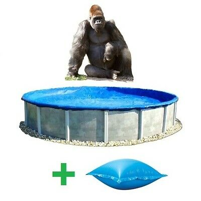 THE GORILLA - ECONOMY ABOVE Ground WINTER POOL COVER - MEGA SALE - ALL SIZES
