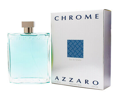 Chrome by Azzaro 6-7  6-8 oz EDT Cologne for Men New In Box