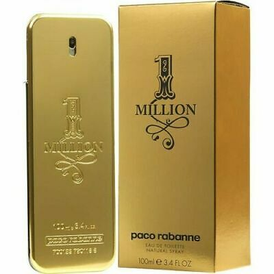 1 One Million by Paco Rabanne 3-3  3-4 oz Cologne for Men New In Box