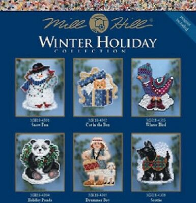 Mill Hill - Winter Holiday OrnamentMagnet - Multiple Designs to Choose From