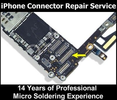 IPHONE 6 - 6- DIGITIZER Glass Touch FPC CONNECTOR repair REPLACEMENT service